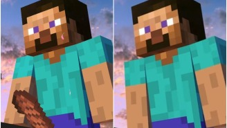 The Monsters At Nintendo Severed Minecraft Steve's Meat