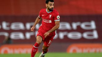 Liverpool's Mo Salah Steps In To Stop Abuse Of Homeless Man At Gas Station, Gives Him £100
