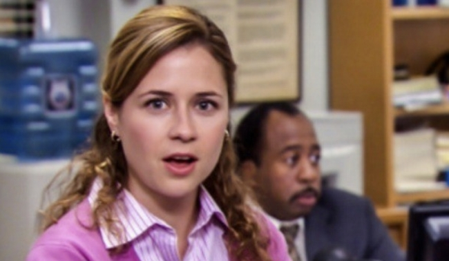 Pam The Office Doppelganger girl on TikTok