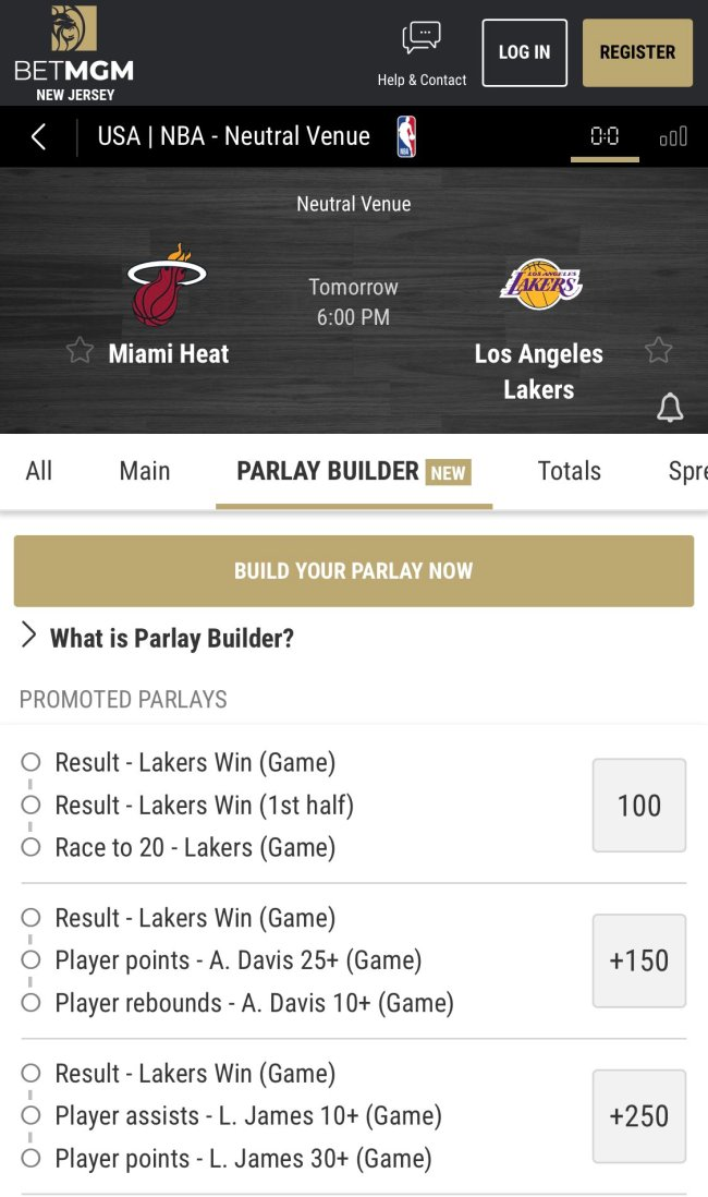 Mybet Sports Bets Lobby Page