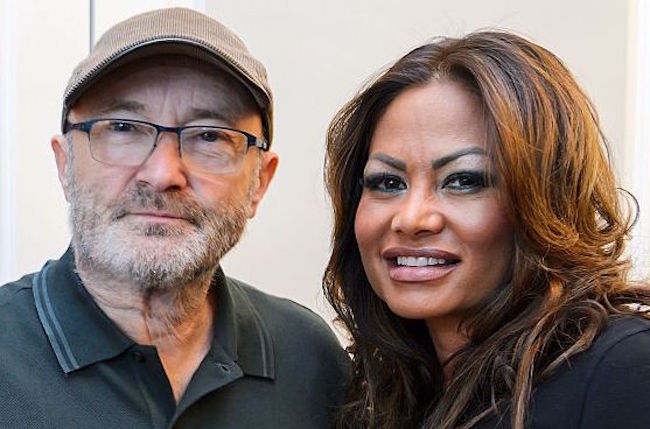 phil collins ex wife occupying mansion
