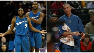 Gilbert Arenas Recalls A Heated Fight With Ex-Teammate Steve Blake And The Hilarious Way Blake Tried To Bury The Hatchet