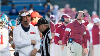 Nick Saban Responds To Lane Kiffin's 'Old Man' Comment About Not Being Able To Cover Him On The Field