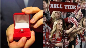 Alabama Fan Loses Engagement Diamond At Bryant-Denny Stadium, Staffer Finds It And Returns It Day Later