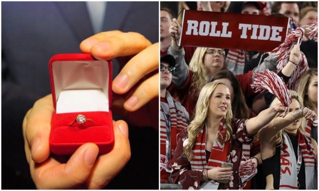 alabama fan loses engagement ring