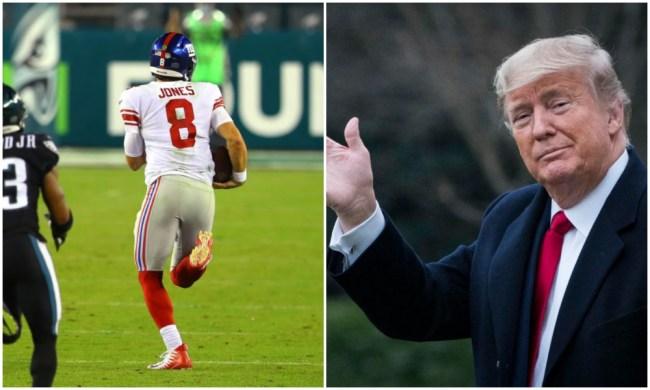 eagles giants presidential debate ratings