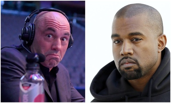 YouTuber Accuses Joe Rogan Of Being 'Fake' To Kayne West After Trashing Him For Years