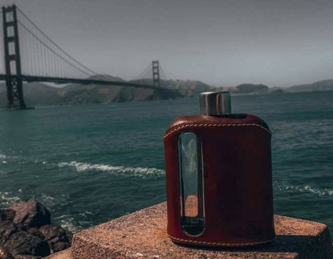 Ragproper Flasks Leather and Silicone