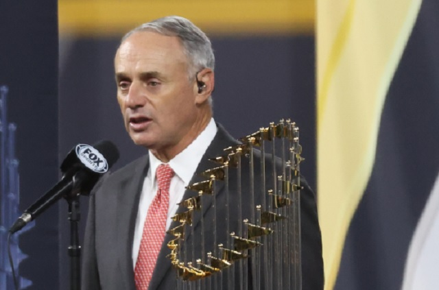 MLB Commissioner Rob Manfred Was Slurring His Words During Bizarre World Series Interview And Fans Had Questions