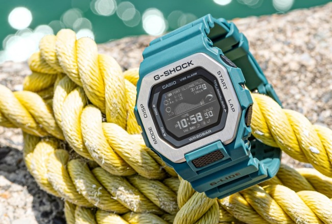 rugged G-Shock watches