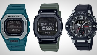 These 3 Rugged G-Shock Watches Are Resistant Against Impact, Water, Electric Shock, Gravity, Low Temps, And More