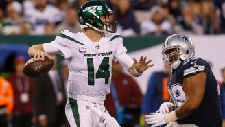 Twitter Couldn't Help But Drag An NFL Analyst's Rumor About Sam Darnold Being Traded To Cowboys