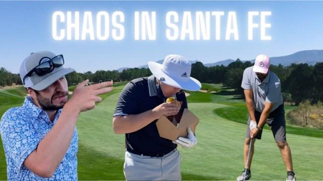santa fe golf vlog brilliantly dumb show