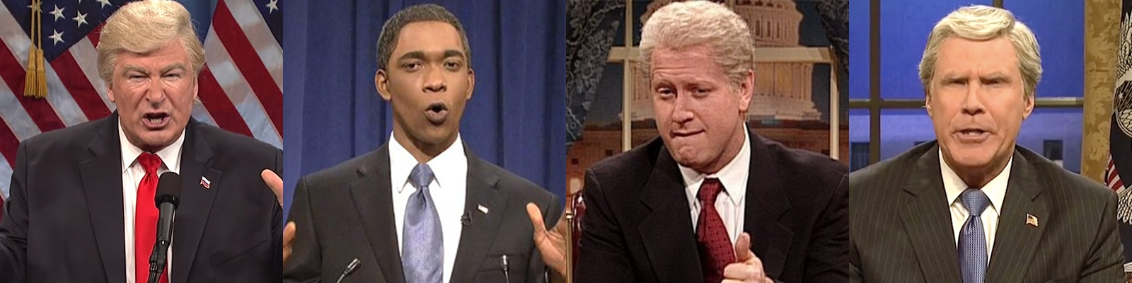 Here's Our Ranking Of Every Presidential Impression In The History Of 'Saturday Night Live'