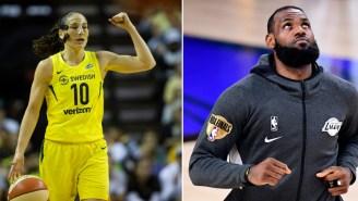 People Are Angry WNBA's Sue Bird Makes $30 Million Less Than LeBron James Despite Similar Accomplishments