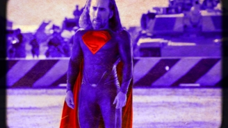 Remembering That Time A Long-Haired Nic Cage Almost Played Superman And The Fever Dream Of '90s Movies