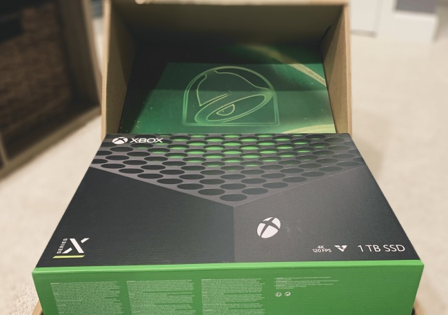Taco Bell Xbox Series X Bundle