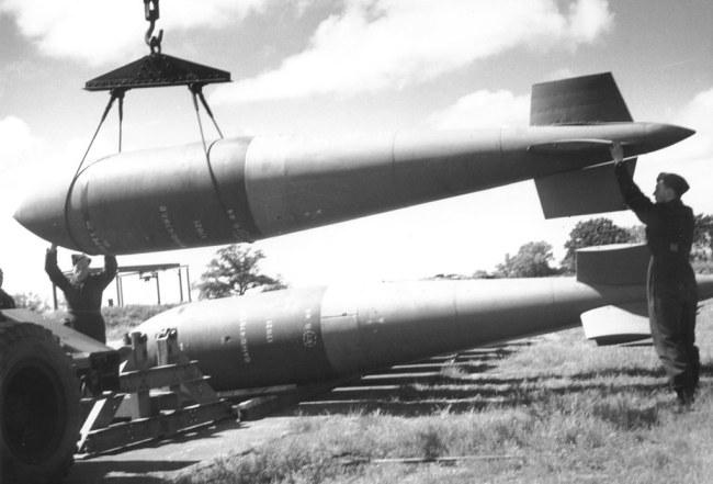 Tallboy bomb WWII