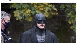 Robert Pattinson's Batman Was Spotted Wearing A Bathrobe And The Internet Had Jokes