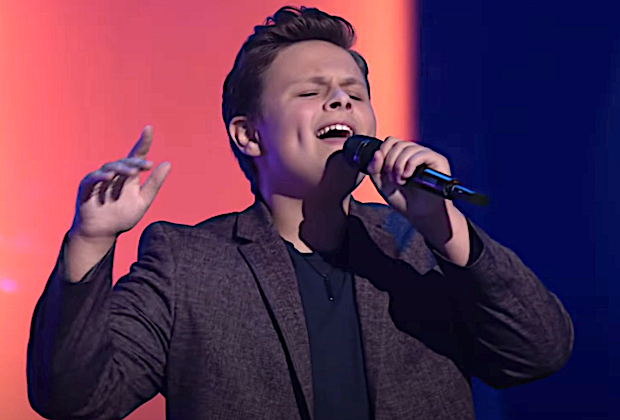 14-Year-Old Carter Rubin Put On For Long Island In The Voice's Blind Auditions