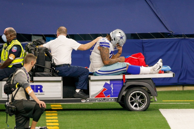 Cowboys DL Trysten Hill reportedly tore his ACL and NFL fans mocked him on Twitter weeks after his dirty hit