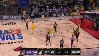 Gamblers Who Bet On The Lakers Were Sick After Tyler Herro's Meaningless Last Second Three-Pointer In Game 4 Cost Them Money