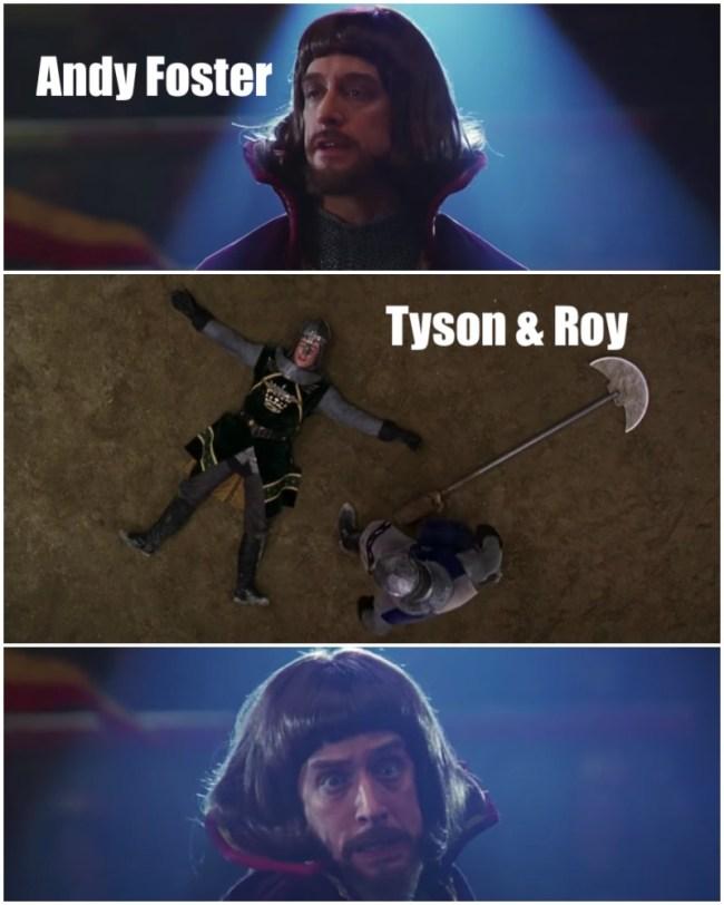 Tyson And Roy Jones Jr.