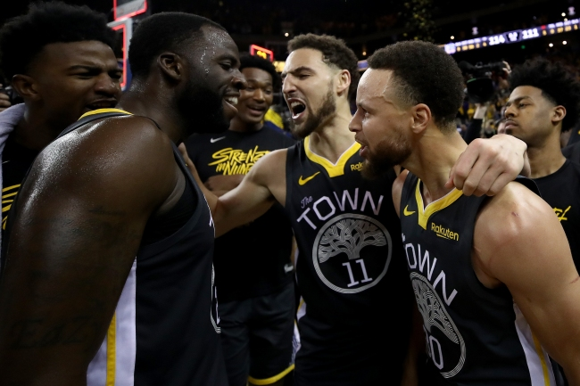 NBA analyst Paul Pierce suggests a wild trade for the Warriors that'd land them another All-Star before the NBA Draft