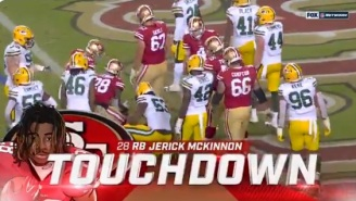 Gamblers Who Bet The Under In Packers-Niners Game Were Sick After Meaningless Final Second Touchdown Costs Them Money