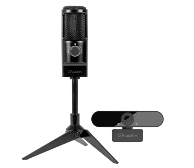 Aluratek Rocket USB Microphone/Webcam Bundle