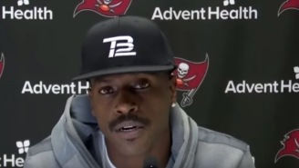 Antonio Brown Breaks Silence In First Presser With The Buccaneers: 'I Just Believed'