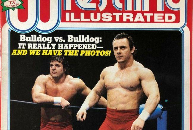 British Bulldogs Pro Wrestling Illustrated Magazine
