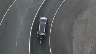 Watch This 47-Year-Old Guy Push A Car For A Mile And Set A New Guinness World Record