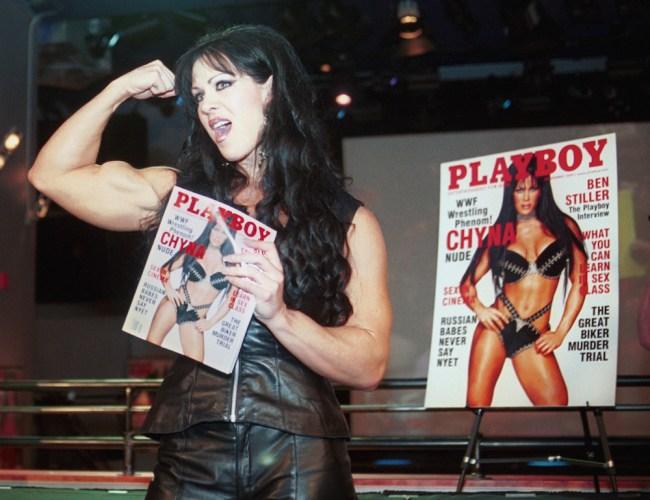 Chyna Playboy Vince McMahon