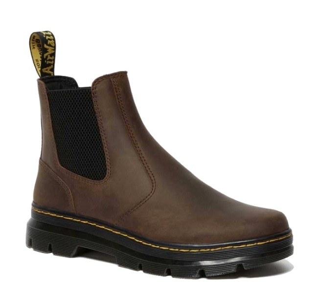 Dr. Martens 2976 Crazy Horse Leather Casual Boots