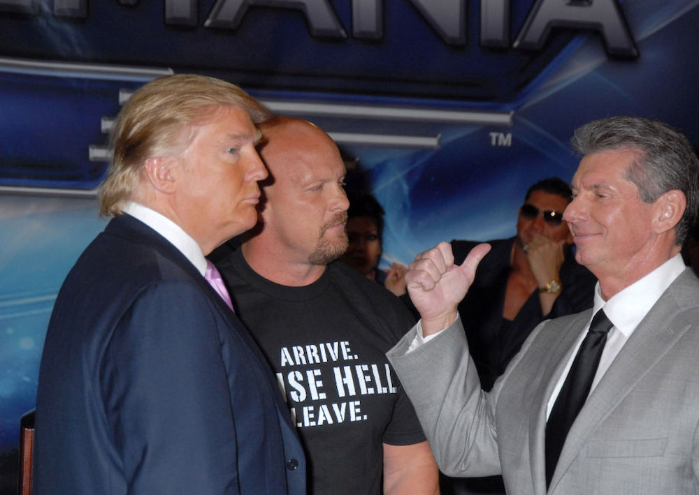 The night Vince McMahon was livid over Donald Trump showing him up on TV