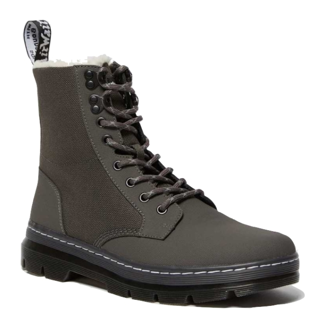 Dr. Martens Combs Fleece Lined Casual Boots
