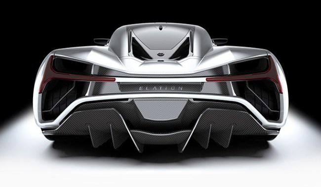 Elation Freedom 2 Million 1414 HP EV Hypercar Made In America