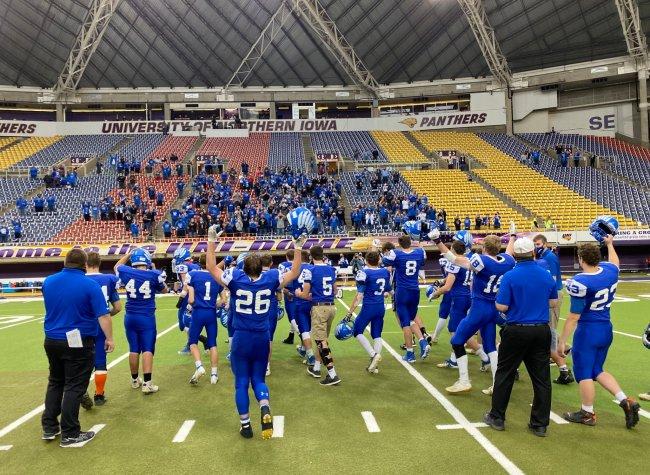 Iowa St. Mary's 8-man football
