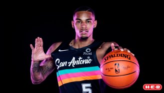 San Antonio's New 'Fiesta' Uniform Contends For The Top Threads In The NBA