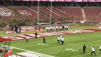 Stanford Has 470 Trees In The Stands As Pac-12 Doesn't Allow Fans In Stadiums