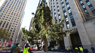 This Year's Rockefeller Center Christmas Tree Is The Perfect Representation For A Long, Exhausting 2020