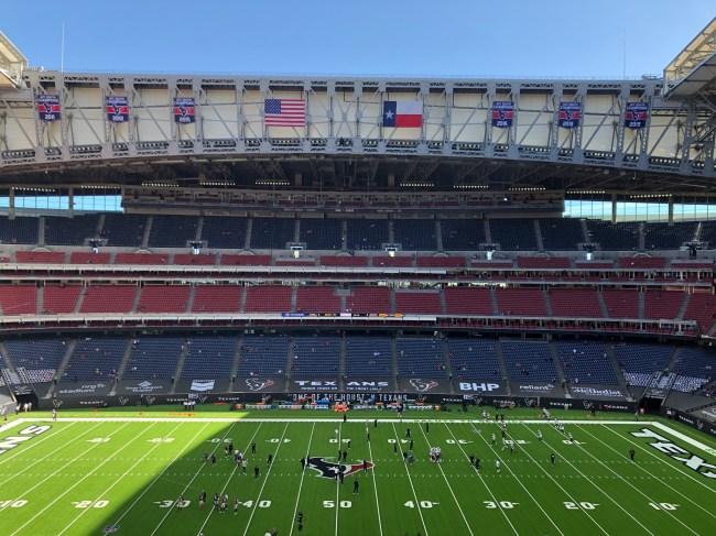 Houston Texans NRG Stadium Roof Open