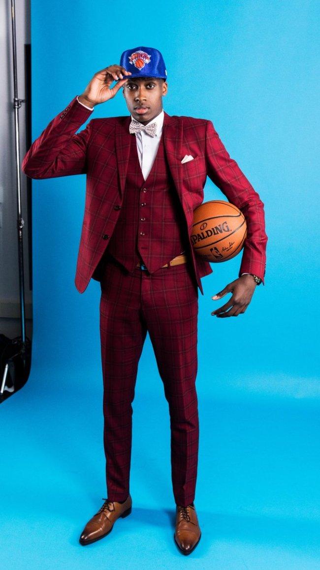 Frank Ntilikina NBA Draft