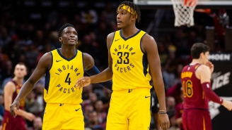 Victor Oladipo's Sister Implies Myles Turner Is Spreading Lies To The Media About Her Brother Wanting To Leave The Indiana Pacers