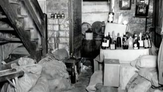 Couple Find 66 Bottles Of Prohibition-Era Whiskey Hidden In Walls Of Their Home – Some Worth $1,000