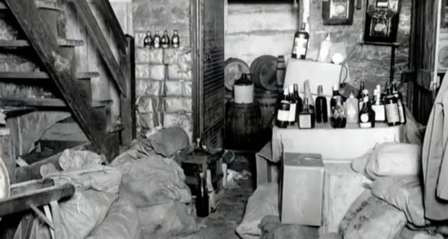 New York couple found 66 bottles of Prohibition-era whiskey in the walls and floorboards of their century-old home that was reportedly built by a bootlegger.