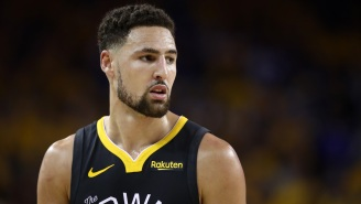 Warriors' Klay Thompson Suffers Leg Injury On Draft Day And It Reportedly 'Looked Bad'