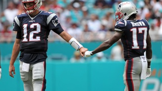 Antonio Brown Is Reportedly Living With Tom Brady Because Brady Wants To Make Sure He Doesn't Cause Problems