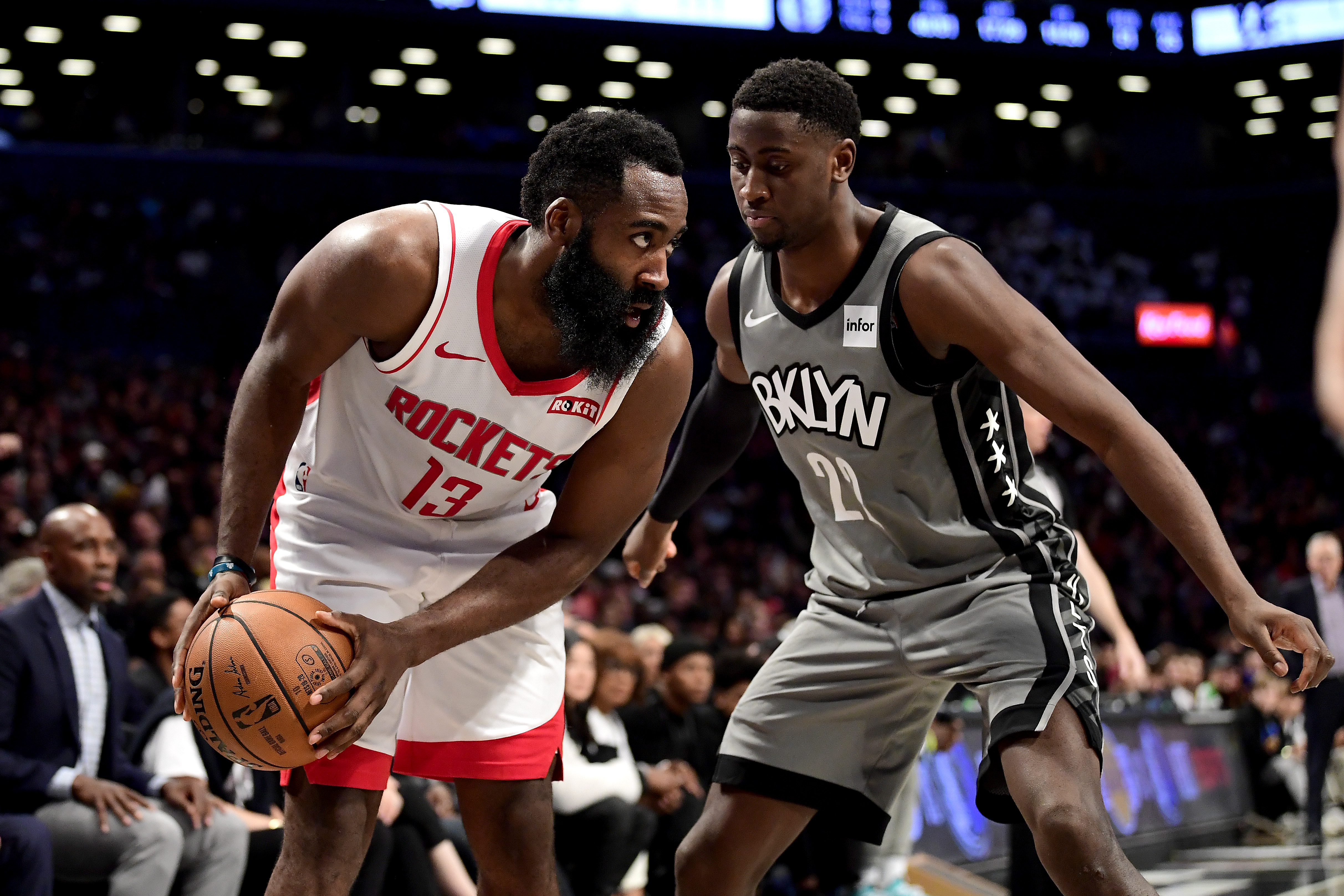 Brooklyn Nets Have Reportedly Engaged In Trade Talks With The Houston Rockets For James Harden And Have Offered Multiple Players In Exchange